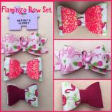Flamingo Bows