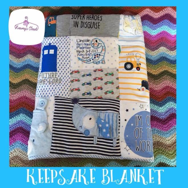 Boys Keepsake Blanket