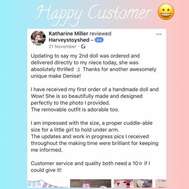 Happy Customer Review